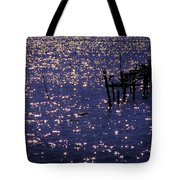 When A Day Ends Tote Bag