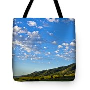 When Clouds Meet Mountains 2 Tote Bag