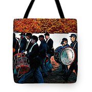 When Johnny Comes Marching Home Tote Bag