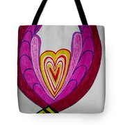 When Love Blooms.. Tote Bag