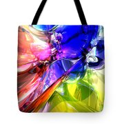 When Rainbows Collide Tote Bag