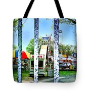 When The Carnivale Came To Town Tote Bag