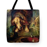 When The Cat's Away The Mice Will Play  Tote Bag