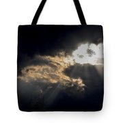 When The Night Has Come Tote Bag