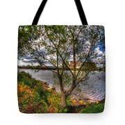 When The Wind Whistles Tote Bag