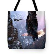 Where Eagles Dare Tote Bag