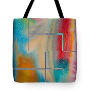 Where My Brush Touches Tote Bag