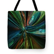 Where Tech Meets Digital Abstract Fx  Tote Bag