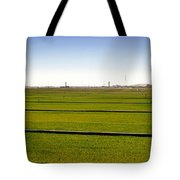 Where The Grass Is Growing Tote Bag
