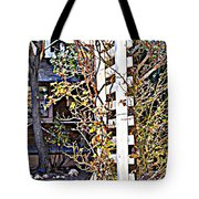 Where The Roses Cling Tote Bag