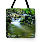 Where The Simple Water Runs  Tote Bag