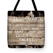 Whiddens Marina 1925 Tote Bag