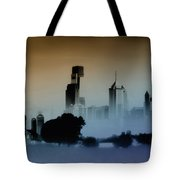 While The City Sleeps Tote Bag by Bill Cannon