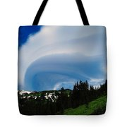 Whirling Clouds  Tote Bag