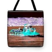 Whirlpool Jet Boat Niagara Falls Inverted Tote Bag