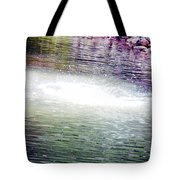 Whirlpool Of Water Suds Tote Bag