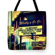 Whisky A Go Go Bar On Sunset Boulevard Tote Bag