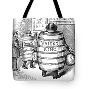 Whisky Ring Cartoon, 1875 Tote Bag
