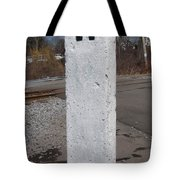 Whistle Post Tote Bag