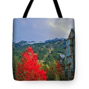 Whistler Red Tote Bag