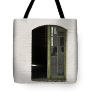 White Brick And Broken Window Tote Bag