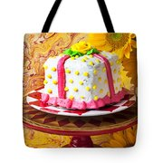 White Cake Tote Bag