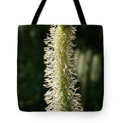 White Canadian Burnet Tote Bag