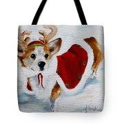 White Christmas Tote Bag