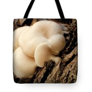 White Cloud Mushrooms Tote Bag