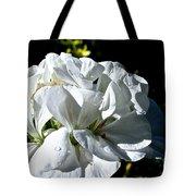 White Dew Tote Bag