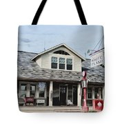 White Flash Gasoline Tote Bag