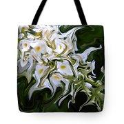 White Flowers 2 Tote Bag