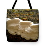 White Fungus Tote Bag