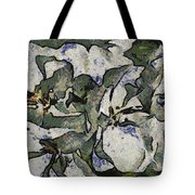 White Geraniums   -- Vangogh Tote Bag
