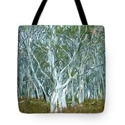 White Gum Forest Tote Bag