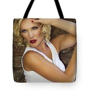 White Hot 2 Palm Springs Tote Bag