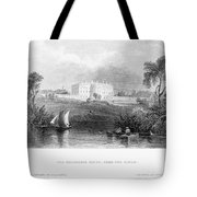 White House, 1839 Tote Bag