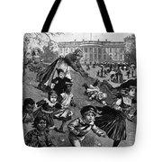 White House: Easter, 1887 Tote Bag