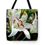 Mother's Day  Lilies  Tote Bag