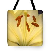 White Lily Tote Bag
