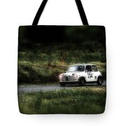 White Mini Innocenti Austin Morris Tote Bag