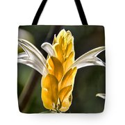 White Mixed With Yellow Tote Bag