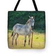 White Mule No.5007 Tote Bag