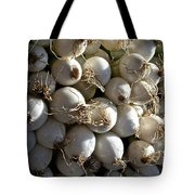 White Onions Tote Bag