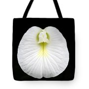 White Pearl Flower Tote Bag