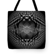 White Perspective Tote Bag