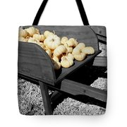 White Pumpkin Harvest Tote Bag