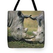 White Rhinoceros Ceratotherium Simum Tote Bag