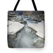 White River Rapids Arthurs Pass Np Tote Bag