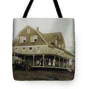 White Roe Boarding House-owner E Keene Prior To My Grandfather. Circ 1900s Tote Bag